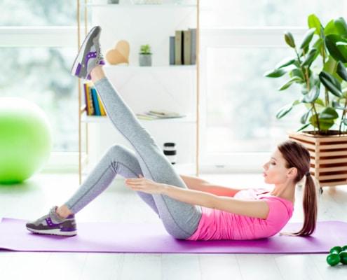 Exercícios para coluna